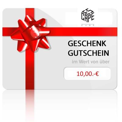 geschenkgutschein onlinestore 10€